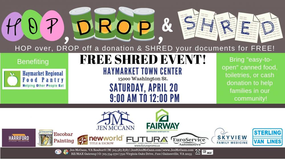 Hop, Drop and Shred Event | Town of Haymarket Virginia